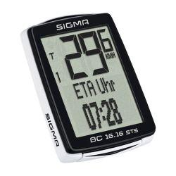 Polkupyörän mittari SIGMA, BC 16.16 STS, CAD