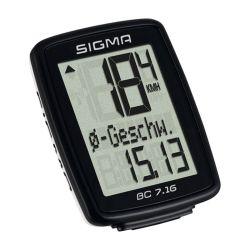 Polkupyörän mittari SIGMA, BC 7.16