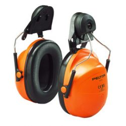 Stihl H31-kuulonsuojain kypäräkiinnityksellä