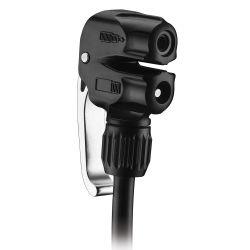 LEZYNE Dual pumpun suutin, presta, auto- ja pikaventtiilille