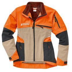 Stihl DYNAMIC VENT metsurin takki (Koko XL, beige)