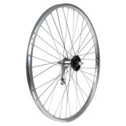 """Takapyörä 26"""" 22-584 SHIMANO 1v, Rodi, alumiini"""