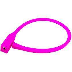 Vaijerilukko PFC, Silicon, 10/60cm, pinkki