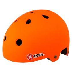 Pyöräilykypärä X-COOL BMX mattaoranssi , 55-58, säätöpannalla