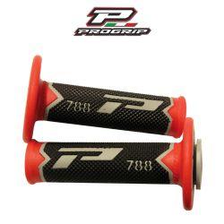 Kädensija PROGRIP 788, harmaa/musta/punainen, 22/25mm