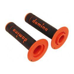 Kädensija DOMINO: Musta/oranssi