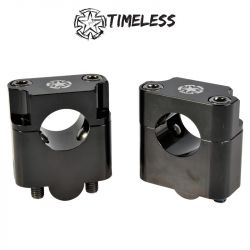 Fat bar ohjaustangon korotuspala pari, 35mm TIMELESS , Musta