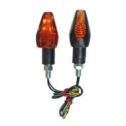 Minivilkku FORTE: Flash, musta savulasi, pituus 65 mm, E-hyväksytty