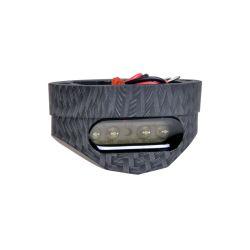 Rekisterivalo FORTE: LED, kirkas CE hyväksytty, alumiini runko musta