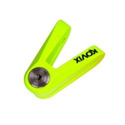 KOVIX levylukko 6mm, Fluorikeltainen