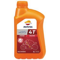 REPSOL Moto Racing 4T 10W50, 1 litra, täyssynteettinen