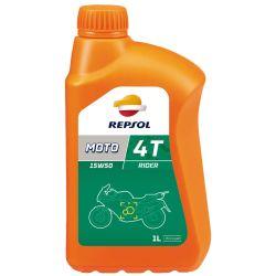 REPSOL Moto Rider 4T 15W50, 1Litraa, mineraali