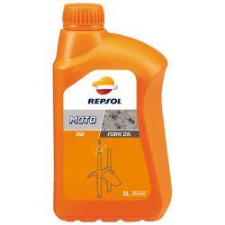 REPSOL Moto Fork Oil 5W, haarukkaöljy,1Litra