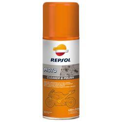 REPSOL MOTO CLEANER & POLISH 400 ml