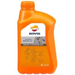 REPSOL Moto Coolant & Antifreeze, jäähdytinneste, 1 litra