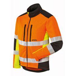 Stihl Protect MS metsurin takki viiltosuojalla ja huomiovärillä (koko L)