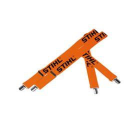 Stihl olkaimet (oranssi, 120cm, nappikiinnityksellä)