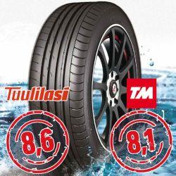 Sportnex AS-2+ TM- ja Tuulilasi-testimenestys 245-40-18
