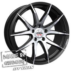 GT3 Black machined face CB: 72.5 8x18