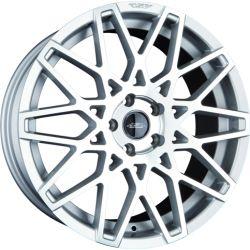 GT4 Silber frontpoliert CB: 72.5 8.5x18