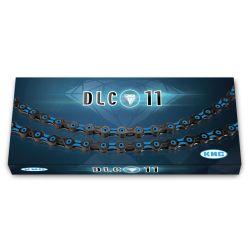 Ketju 11-v KMC DLC11, Black/Blue 116L