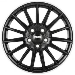 C23 Diamond Rim Black 8x19