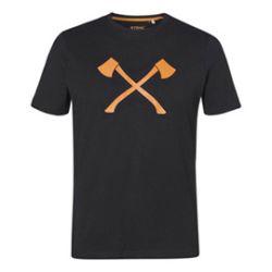 """T-paita """"AXE"""" musta, koko XL"""