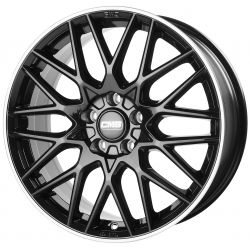 C25 Diamond Rim Black 7.5x18