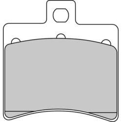 Jarrupala FERODO Platinum taakse: Aprilia, Hyosung, Keeway, KSR Moto (1998-2016)