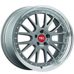 GTE Titan polished lip CB: 72.5 8x18
