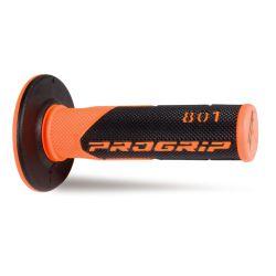 Kädensija PROGRIP 801, fluorioranssi/musta, 22/25mm