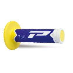 Kädensija PROGRIP 788, valkoinen/sininen/keltainen, 22/25mm