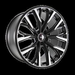 RF02 Black matt polish 11x20