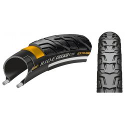 "Ulkorengas 28"" CONTINENTAL Ride City Reflex 37-622, musta"