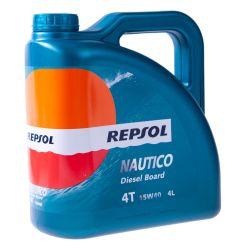 REPSOL Nautico Diesel Board 4T 15W40, 4 litraa