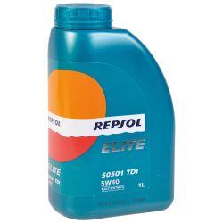 REPSOL Elite 5051 TDI 5W-40, 1 Litra