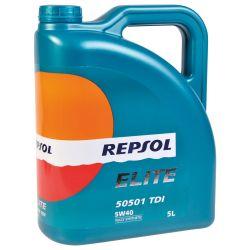 REPSOL Elite 5051 TDI 5W-40, 5 Litraa