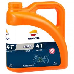 REPSOL Moto Racing HMEOC 4T 10W30, 4 Litraa, täyssynteettinen