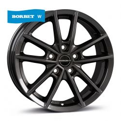 W mistral anthracite glossy 7x17