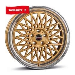 B gold rim polished 8.5x19