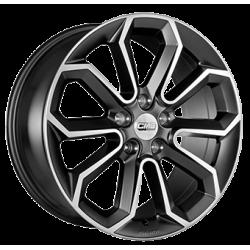 C20 Dull Black / Polished 8.0x18