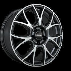 SL5 Vincitore MATT BLACK FACE-CUT 7.5x18