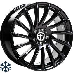 TN16 Black painted 7.5x17